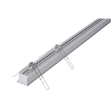 HV9695-4540 - Deep Square Recessed Winged Aluminium Profile