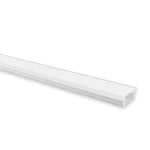 HV9699-2308-2M - Shallow Square Winged Aluminium Profile 2m Length
