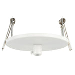 HV9705-9005-WHT-RND - 100mm Round Recessed Canopy White
