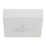 HV9705-9025-WHT-SQ - 100mm Square Canopy White