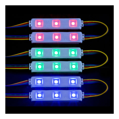 HV9794-IP65-RGB - 0.72w IP65 12v DC Signage Modules RGB