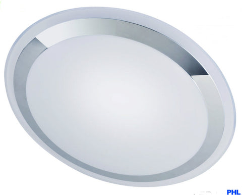 Round LED Ceiling Light Chrome Trim