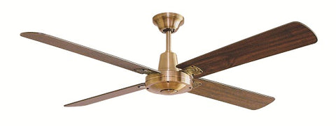 Typhoon MACH 3 Timber Ceiling Fan - without light