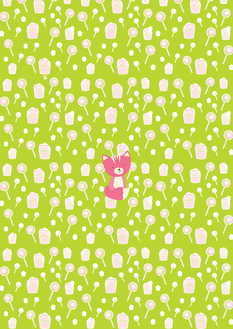 Sweetie Smarty Pants Green Pink