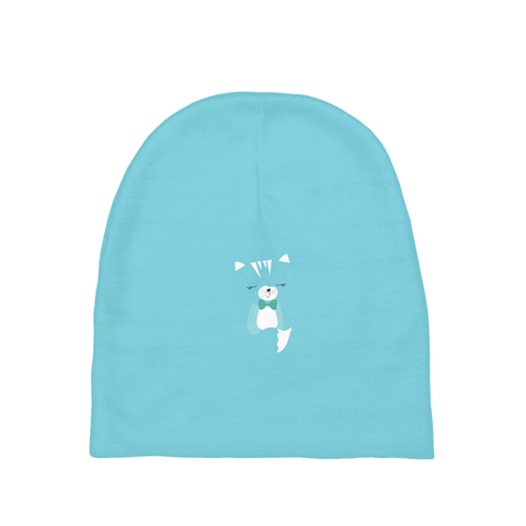 Baby Beanie_Hidden Kitten Blue