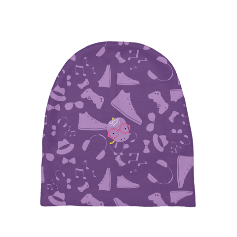 Baby Beanie_Alternative Whinno Dino Purple