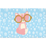 Placemats_Sweetie Smarty Pants Blue Pink
