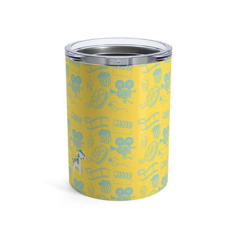 Tumbler Cinema Zebra Yellow