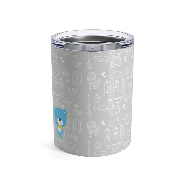 Tumbler Baking Bear Grey