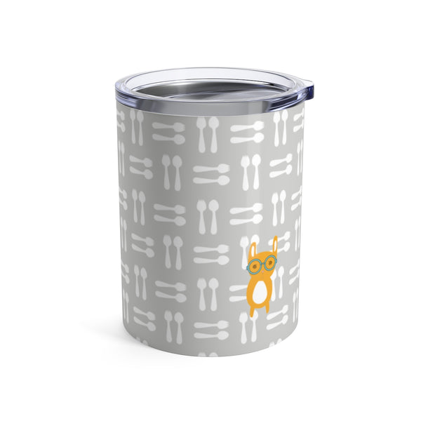 Tumbler Hungry Funny Bunny Grey