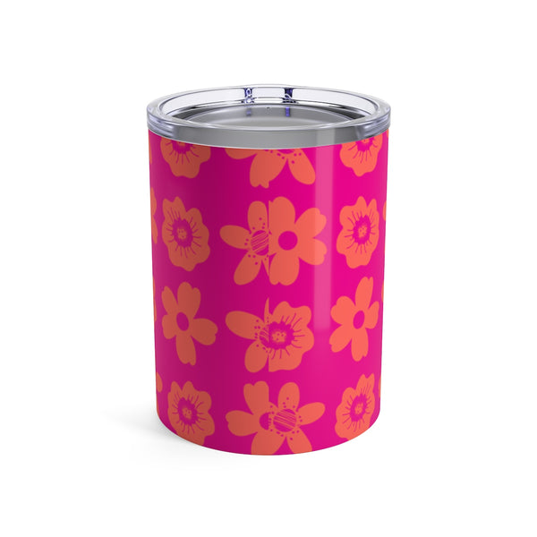 Tumbler Flower Power Elephant Pink