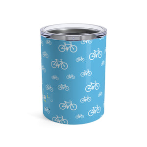Tumbler My Bike Silly Kitty Blue
