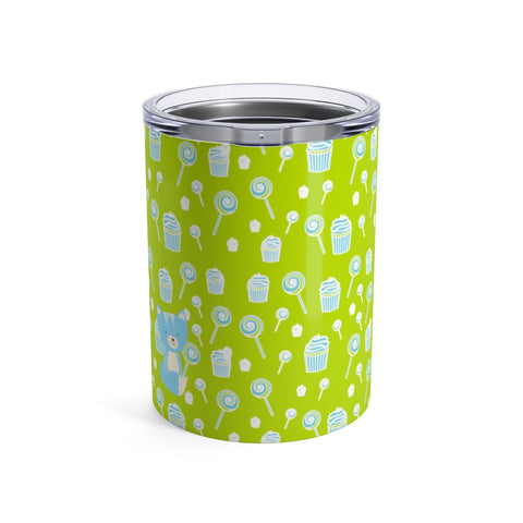 Tumbler Sweetie Smarty Pants Green Blue