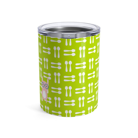Tumbler Hungry Funny Bunny Green