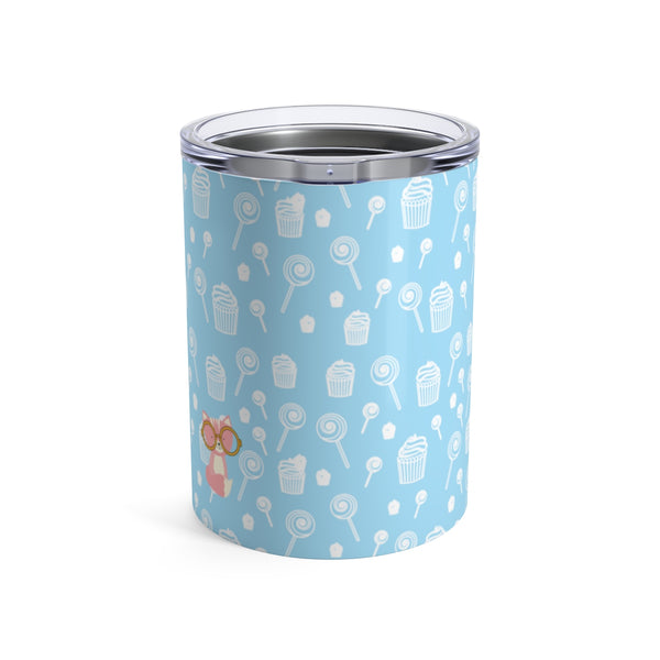 Tumbler Sweetie Smarty Pants Blue Pink