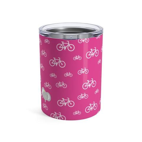 Tumbler My Bike Elephant Pink