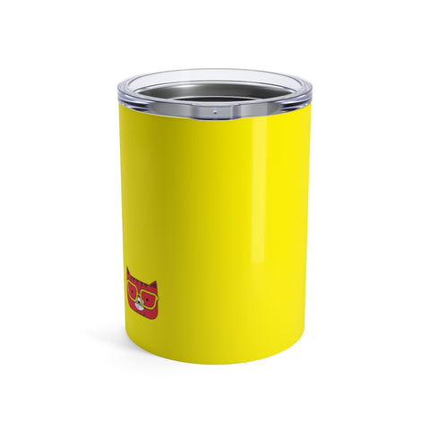 Tumbler Solid Yellow Cool Cat