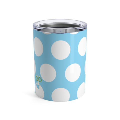 Tumbler Polka Dottie Smarty Pants Blue