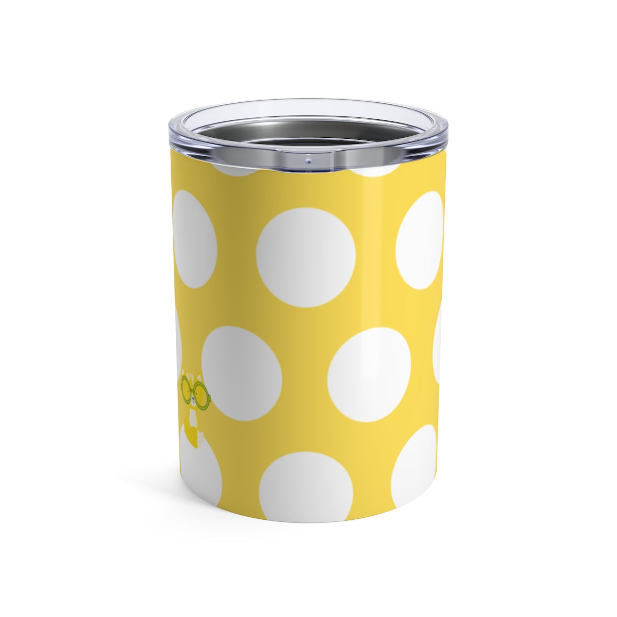 Tumbler Polka Dottie Smarty Pants Yellow
