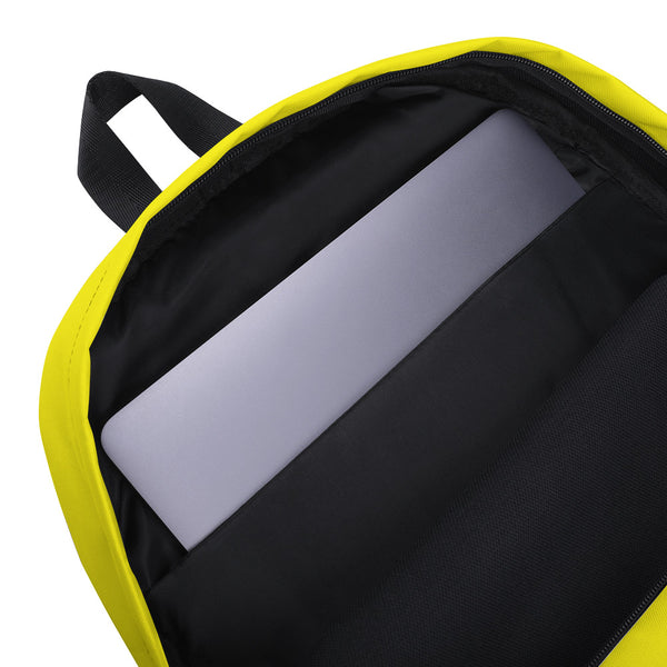 Backpack_Solid Yellow Smarty Pants