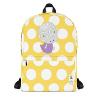 Backpack_Polka Dottie Whinno Dino Yellow