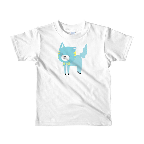 Kids T-Shirt_Cinema Silly Kitty Blues