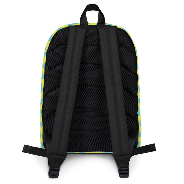 Backpack_I Love You Zebra Green