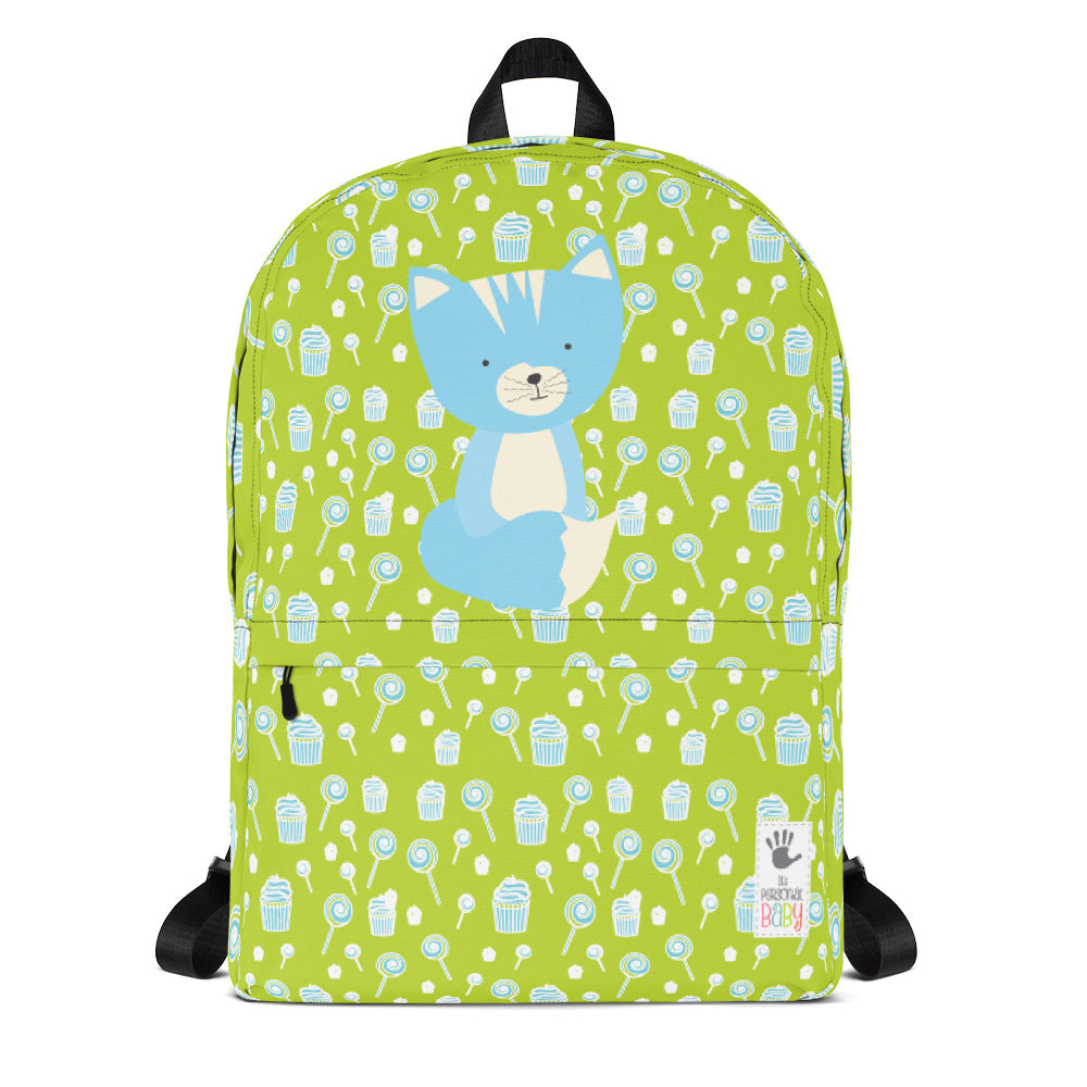Backpack_Sweetie Smarty Pants Green Blue
