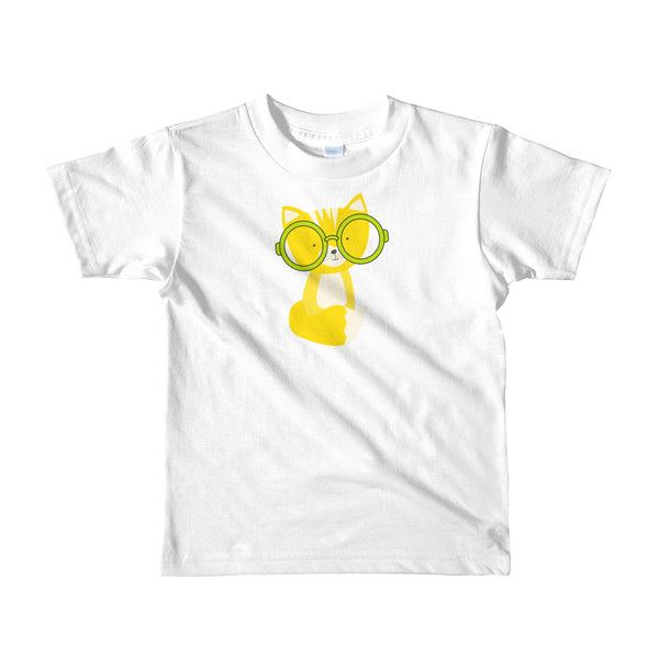 Kids T-Shirt_Polka Dottie Smarty Pants Yellow
