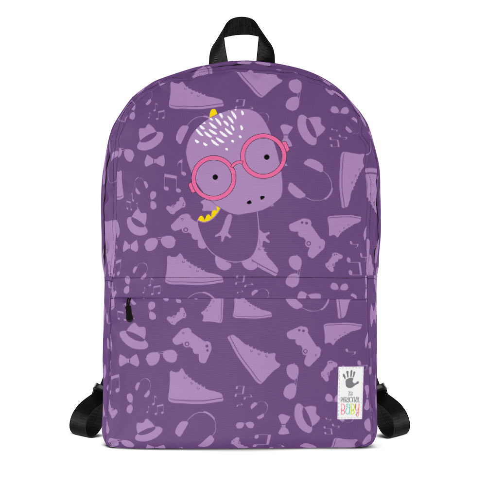 Backpack_Alternative Whinno Dino Purple