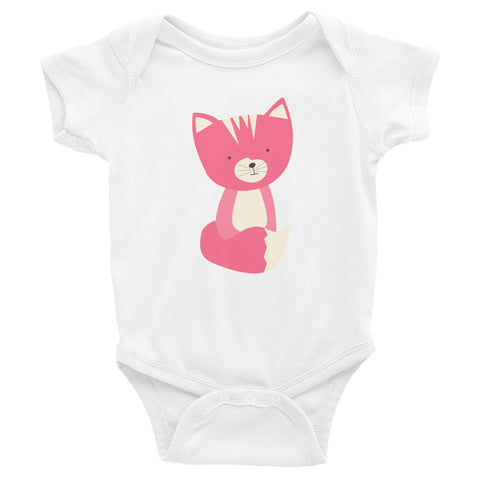 Infant Bodysuit_Sweetie Smarty Pants Green Pink