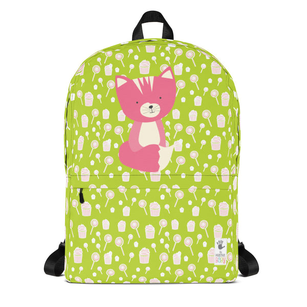 Backpack_Sweetie Smarty Pants Green Pink
