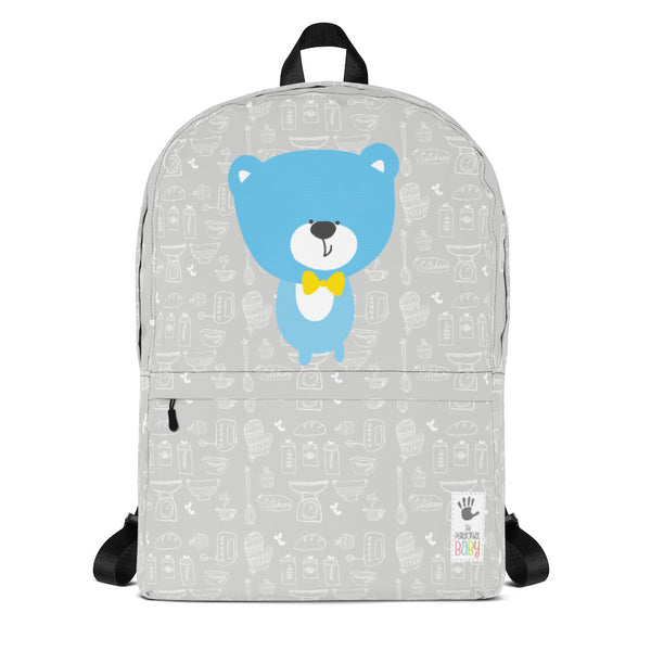 Backpack_Baking Bear Grey
