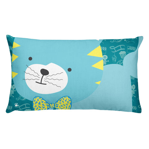 Premium Pillow_Cinema Silly Kitty Blues