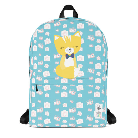 Backpack_Say Cheese Smarty Pants Blue