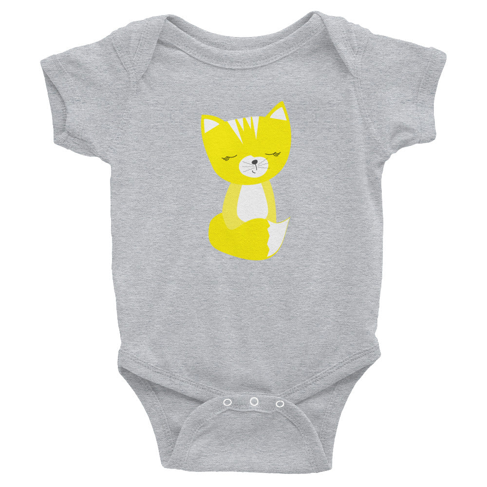 Infant Bodysuit_Solid Blue Smarty Pants