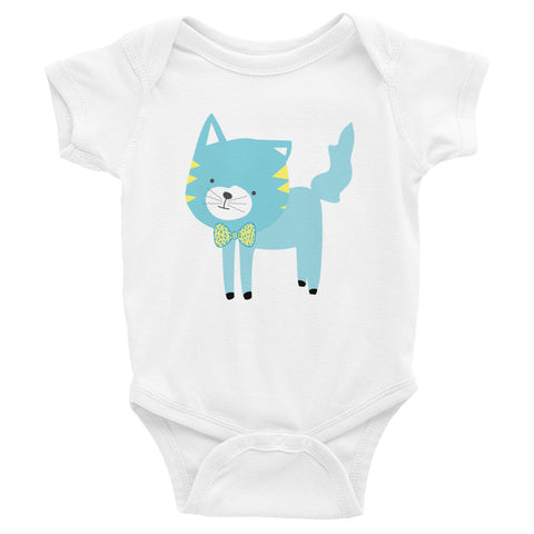 Infant Bodysuit_Cinema Silly Kitty Blues