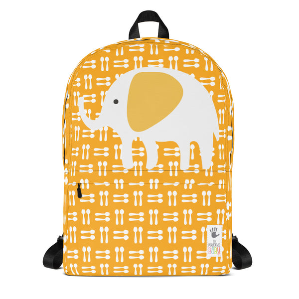 Backpack_Hungry Elephant Orange