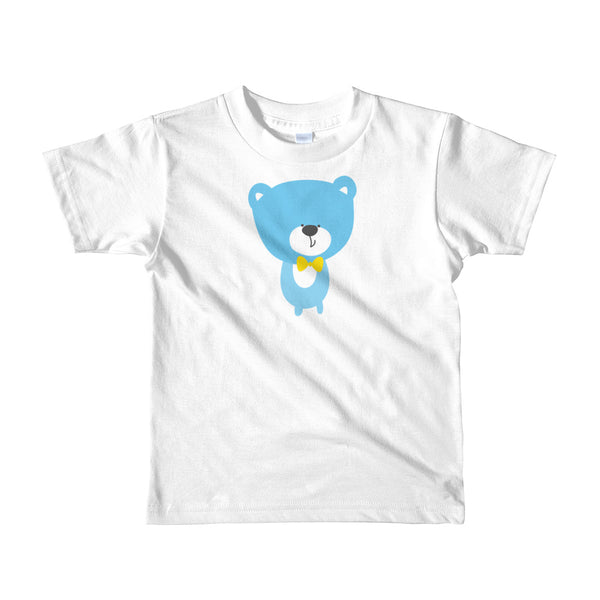 Kids T-Shirt_Baking Bear Grey
