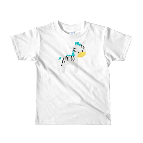 Kids T-Shirt_Cinema Zebra Yellow