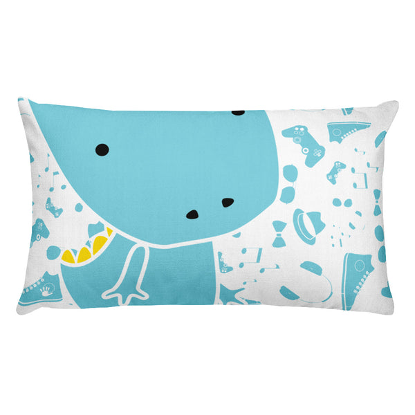 Premium Pillow_Alternative Whinno Dino White