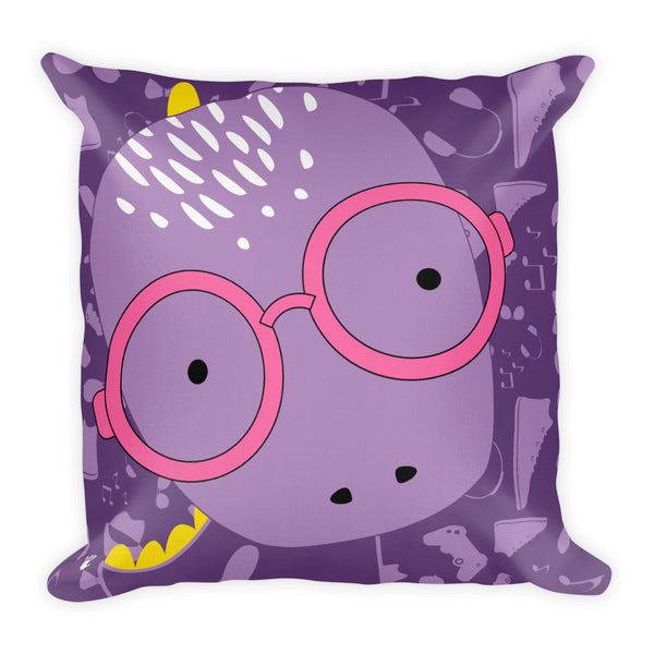 Premium Pillow_Alternative Whinno Dino Purple
