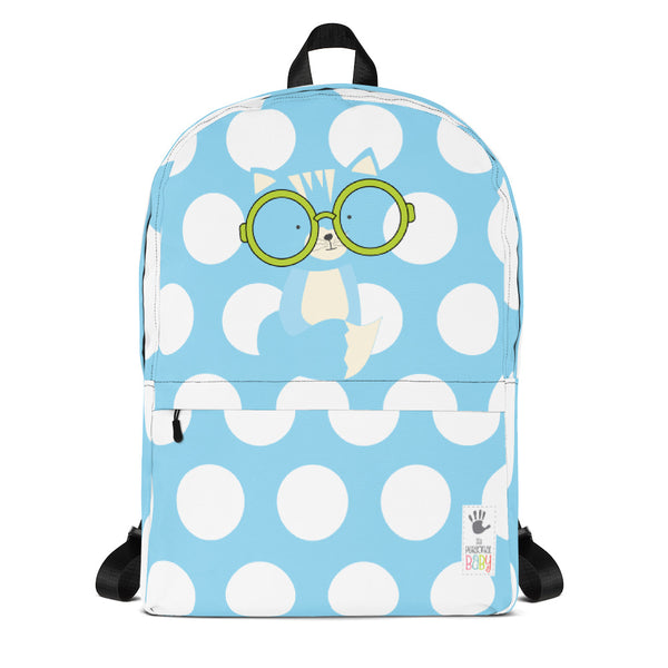 Backpack_Polka Dottie Smarty Pants Blue