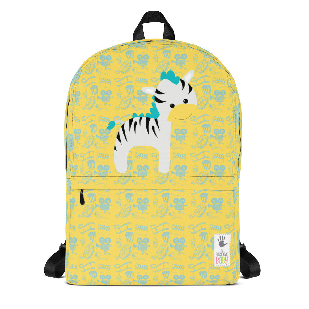 Backpack_Cinema Zebra Yellow