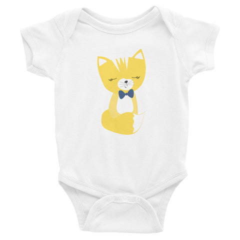 Infant Bodysuit_Say Cheese Smarty Pants Blue