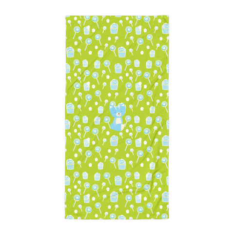 Towel_Sweetie Smarty Pants Green Blue