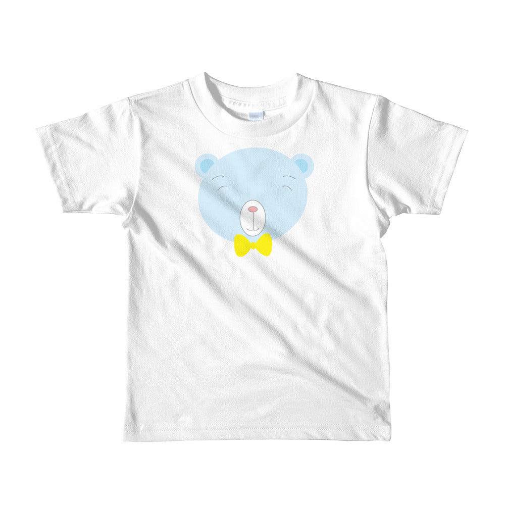 Kids T-Shirt_Baking Bear Blue