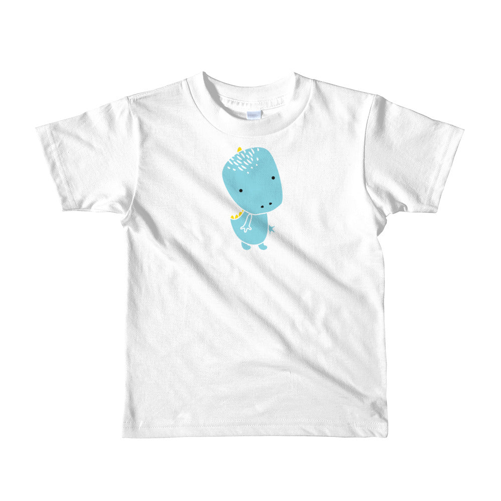 Kids T-Shirt_Alternative Whinno Dino White