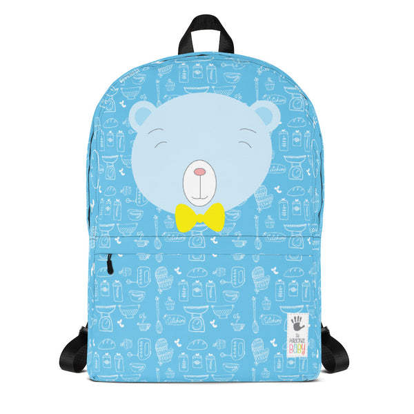 Backpack_Baking Bear Blue