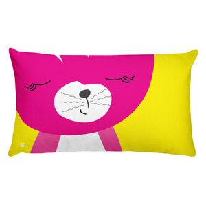 Premium Pillow_Solid Yellow Smarty Pants
